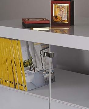 2x GedoTec Manija puerta de vidrio Manijas de muebles para Puertas de cristal Fundición de zinc Tirador Grueso de cristal 4 - 6 mm 2 Colores Calidad de marcas para su Sala