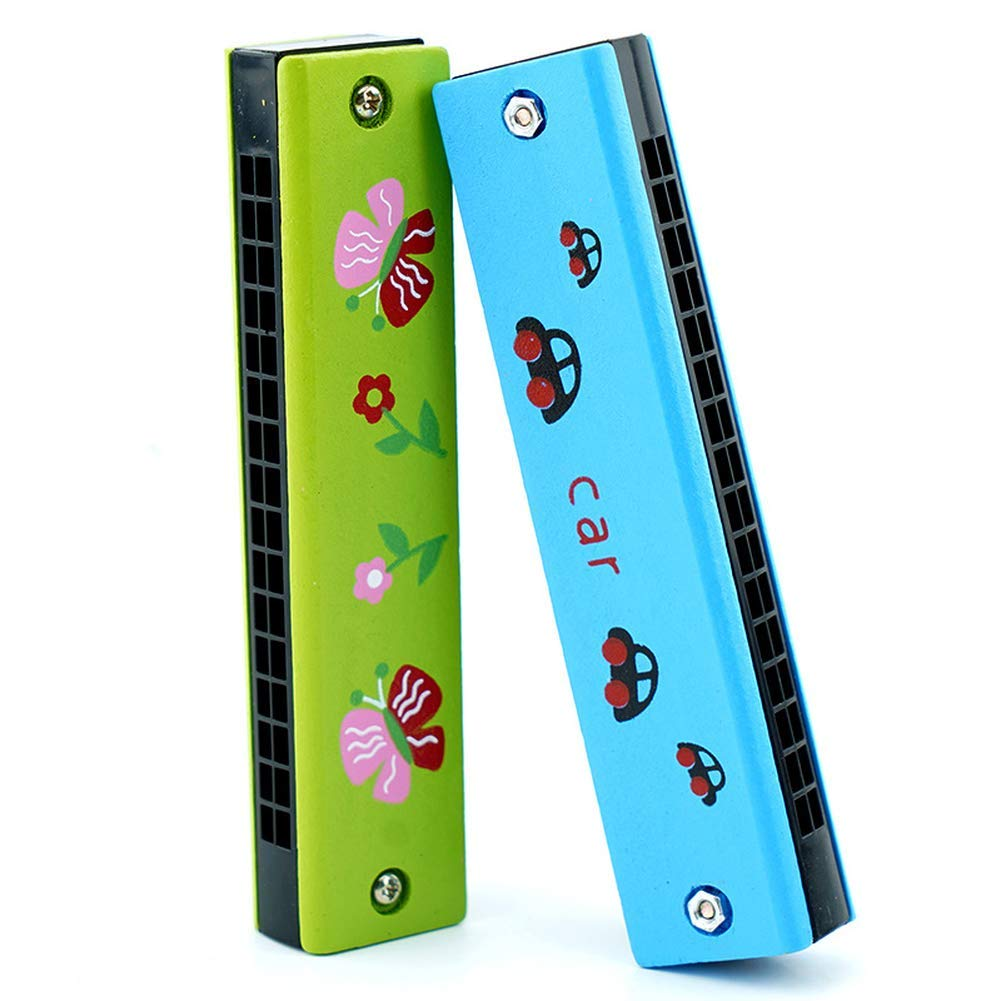 Melodica Wooden Harmonica Suitable for Music Beginners and Students