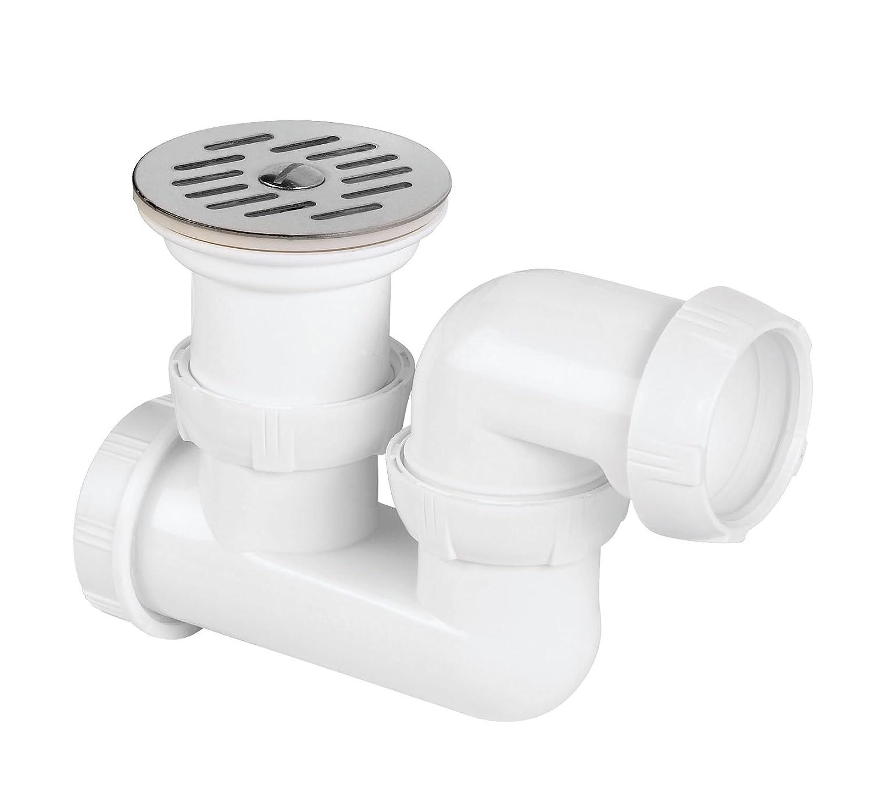 Wirquin SP428/Bath Pop-up Waste and Trap Adjustable Diameter 50