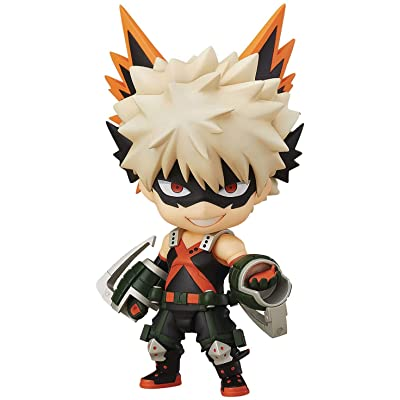 Good Smile My Hero Academia: Katsuki Bakugo (Hero's Edition) Nendoroid Action Figure: Toys & Games
