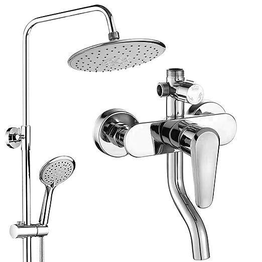 Columna de ducha, kit | cuerpo de cobre fino + manguera de ...