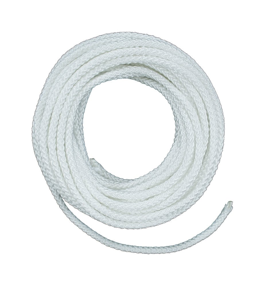 Lehigh ND6100X 3/16-Inch by 100-Feet Nylon Diamond Braided Rope, White Crawford-Lehigh Group