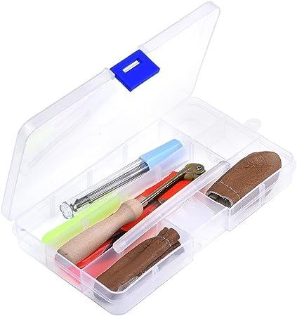Juego de herramientas iniciales para trabajar fieltro de lana, kit de utensilios para manualidades, agujas, viene con practico estuche: Amazon.es: Hogar