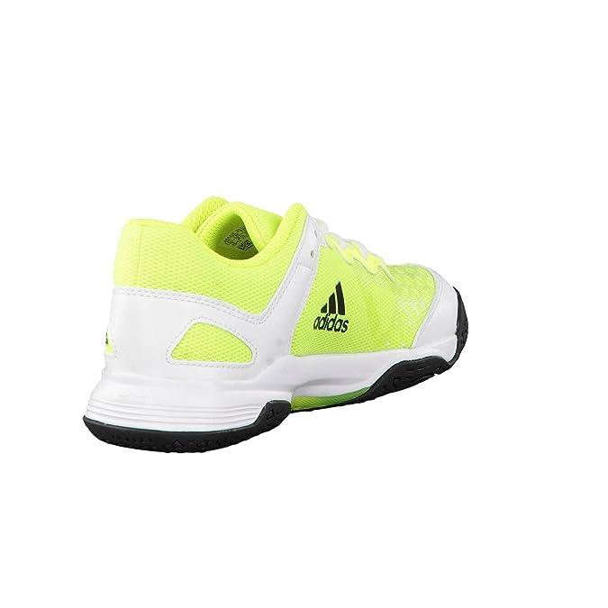 the latest 76bda 08c36 Adidas Court Stabil J, Basses Mixte Enfant Amazon.fr Chaussures et Sacs