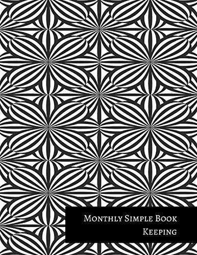 Monthly Simple Book Keeping PDF