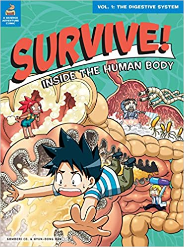 Survive! Inside the Human Body, Vol. 1: The Digestive System ...