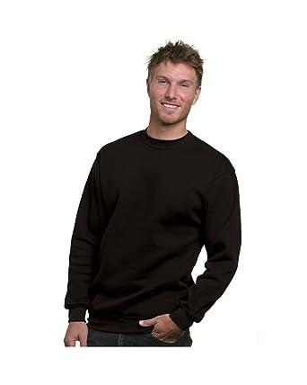 Bayside Adult Crewneck Sweatshirt 5XL Black