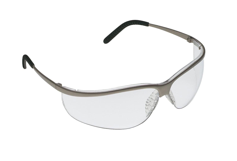 3M Metaliks Sport Protective Eyewear, 11343-10000-20 Clear Anti-Fog Lens, Nickel Frame