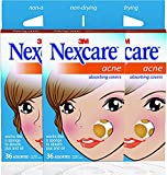 Nexcare Acne Cover, Drug-Free, Gentle, Breathable Cover, 36 Count (Pack of 3) For Sale