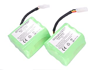 CyberTech Super Extended 3800mAh Replacement Battery 2-Pack Compatible for Neato xv-11 xv-12 xv-15 xv-21 xv-25 Signature XV Pro VR100 945-0005 205-0001 945-0006 945-0024 Robotic Vacuum Cleaner