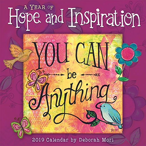 A Year of Hope and Inspiration 2019 Mini Calendar