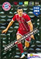 Robert Lewandowski FC Bayern Munchen 2018 Panini Adrenalyn XL FIFA 365 EXCLUSIVE LIMITED EDITION Card! Awesome Special Great Looking Card Imported from Europe! Shipped in Ultra Pro Top Loader! WOWZZER