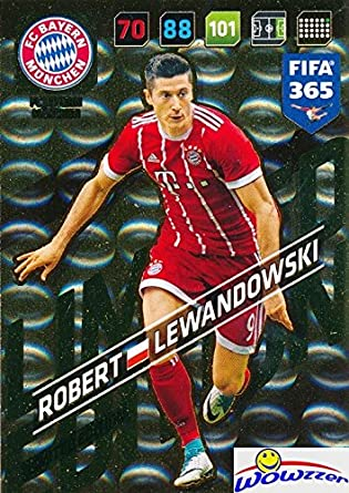 7793f4f4ff9 Robert Lewandowski FC Bayern Munchen 2018 Panini Adrenalyn XL FIFA 365  EXCLUSIVE LIMITED EDITION Card!