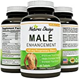 Natural-Male-Enhancement-Supplement-745-MG-Potent-and-High-Quality-Tablets-Pure-Maca-Root-L-Arginine-Tongkat-Ali-Powder-Guaranteed-By-Natures-Design