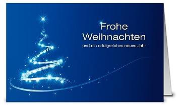 Weihnachtskarten Beschriften.Weihnachtskarten Blau Modernes Design Mit Baum In Light Paint Optik