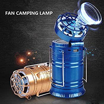 Sipring Portable Led Camping Lantern Ceiling Fan 18 Led Sensor