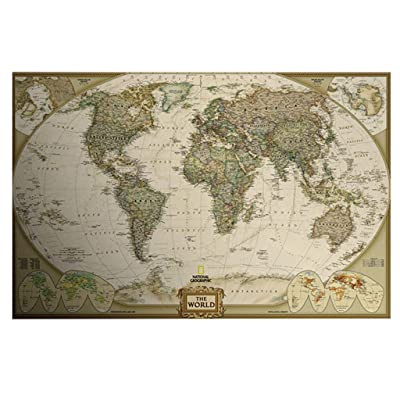 FINME Puzzles for Adults 1000 Piece Large Puzzle, World Map Jigsaw Puzzle (Multicolor): Clothing