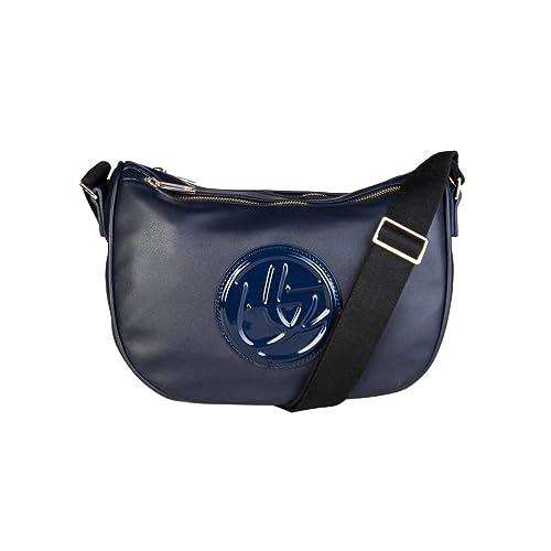 342383523c03c Women Cross Body Bag Blu Byblos Blue Women Genuine Designer Crossbody Bag   Amazon.co.uk  Shoes   Bags