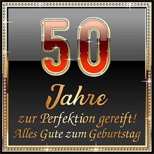 RAHMENLOS 3 St. Aufkleber Original Design: Selbstklebendes Flaschen-Etikett zum 50. Geburtstag: 50 Jahre zur Perfektion gereift!
