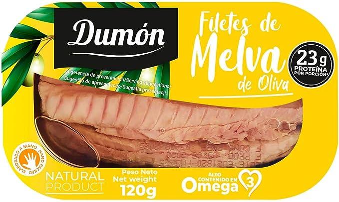 DUMON - 12 unidades. Filetes de Melva en Aceite de Oliva en ...