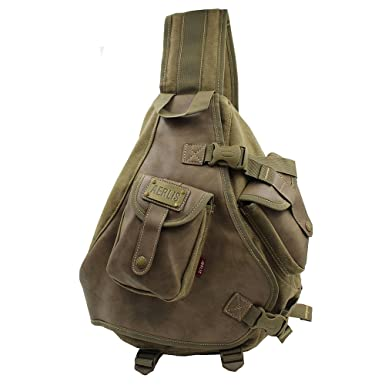 Lanica One Strap Sling Cross Body Shoulder Backpack Travel Rucksack