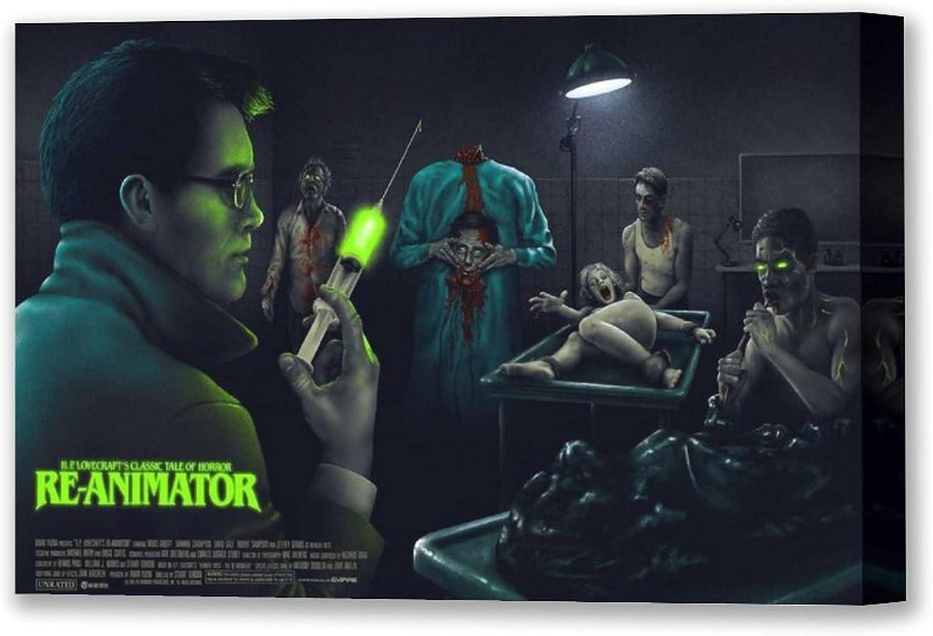 OPIZKLJ H.P.Lovecraft's Re-Animator Modern Family Bedroom Decor Posters 08×12inch(20×30cm)