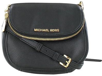 MICHAEL Michael Kors Women\u0027s Bedford Flap Cross Body Bag, Black, One Size