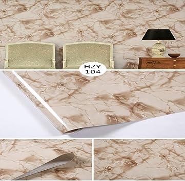 lsaiyy Patrón de mármol Grueso restaurado Pegatinas PVC ...