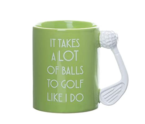 Boxer Gifts MU3044 - Taza de golf: Amazon.es: Hogar