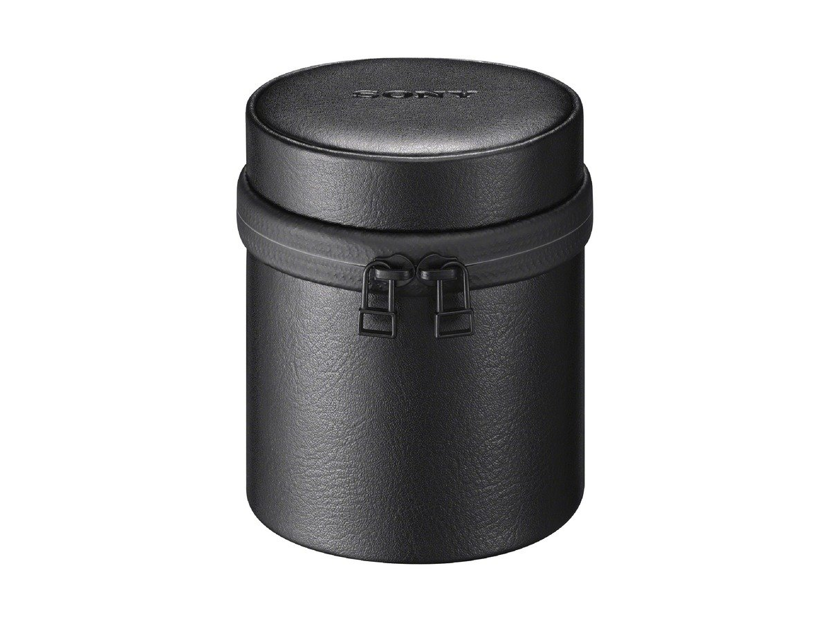 Sony LCS-BBL Custodia morbida per obiettivi medi, Nero LCSBBL/B Custodiadatrasporto QX100 SmartLens