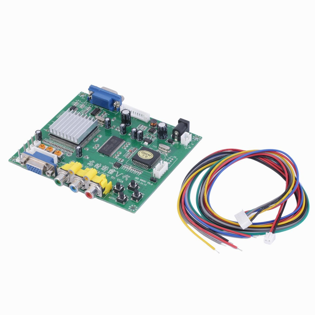 New RGB CGA EGA YUV to VGA HD Video Converter Board Moudle HD9800 GBS8200 Entsteinberge 3