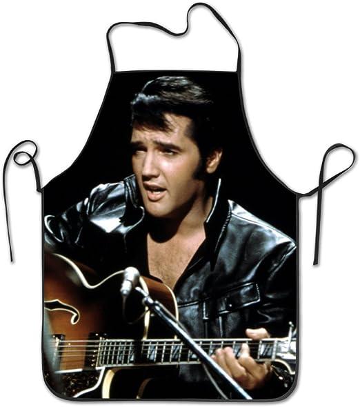 Elvis Presley tocando la guitarra babero Lockrand delantal hombres ...