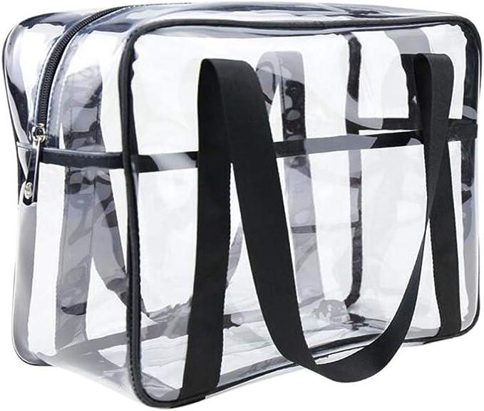 Amazon.com: ONEGenug transparente bolsa de aseo Bolsa de ...