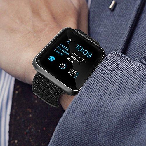 Amazon.in: Buy Uitee Smart Watch Band Dark Black Sport Loop, Uitee