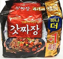Samyang Godd Jjajangmen Chajang Noodle Ramen 5-pack