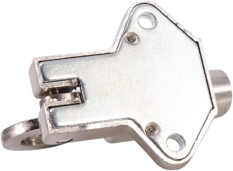Chiavistello in lega di zinco di sicurezza Pull Ring Spring Bounce catenaccio per finestra capannone cancello WC camera da letto