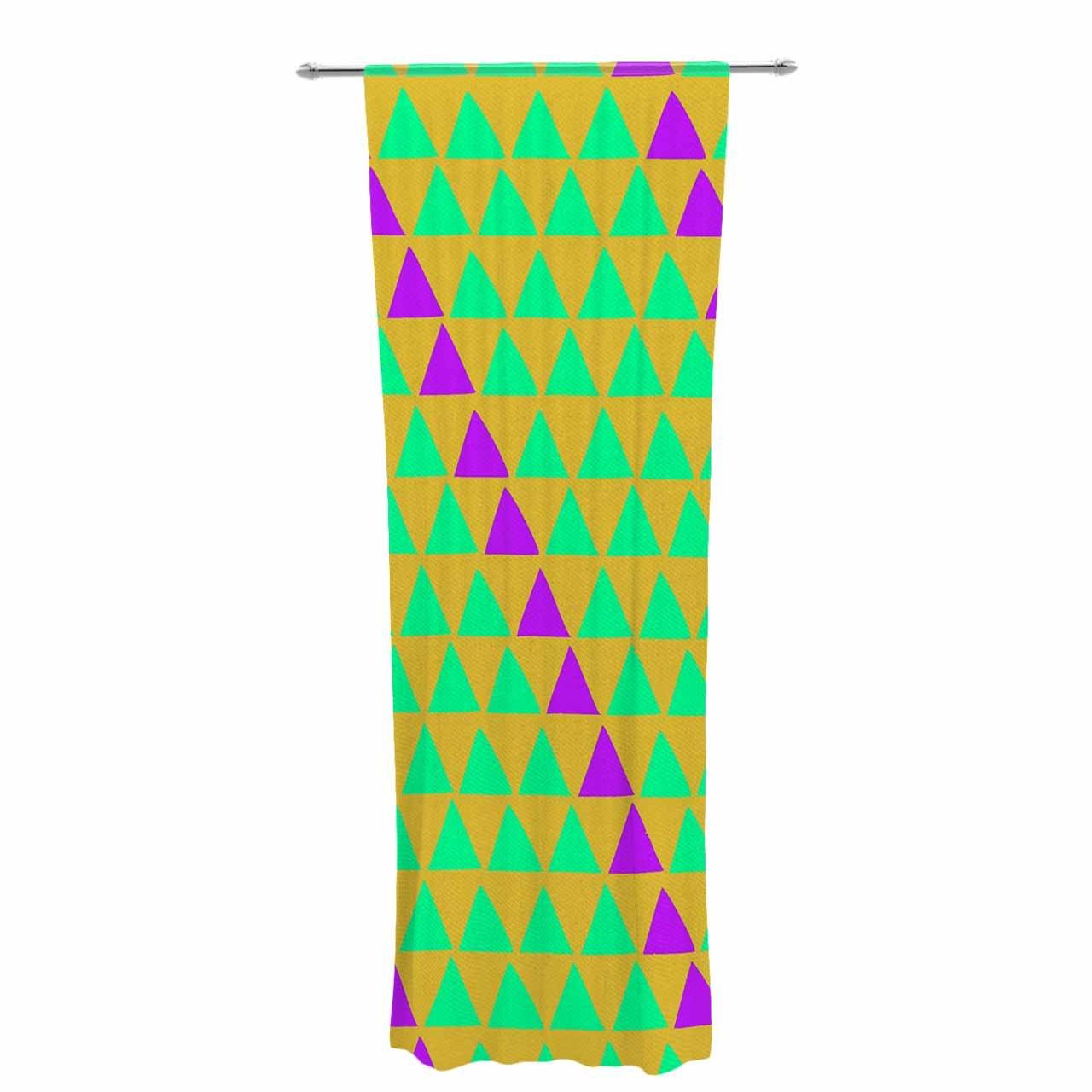 Kess InHouse Matt Eklund Fiesta Sheer Curtains 30\' x 84\'