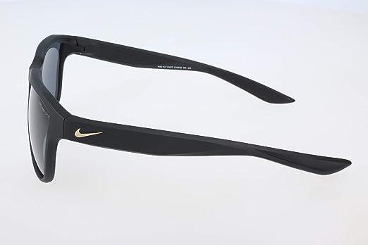 7b5acdd912e0 Amazon.com: Nike Golf Men's Nike Fly Swift Rectangular Sunglasses, Matte  Black/Gold Frame, 57 mm: Clothing
