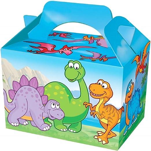 10 cajas con diseño de dinosaurios para llevar alimentos o como ...