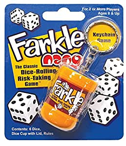 Farkle Nano Keychain Toys and Game Dice