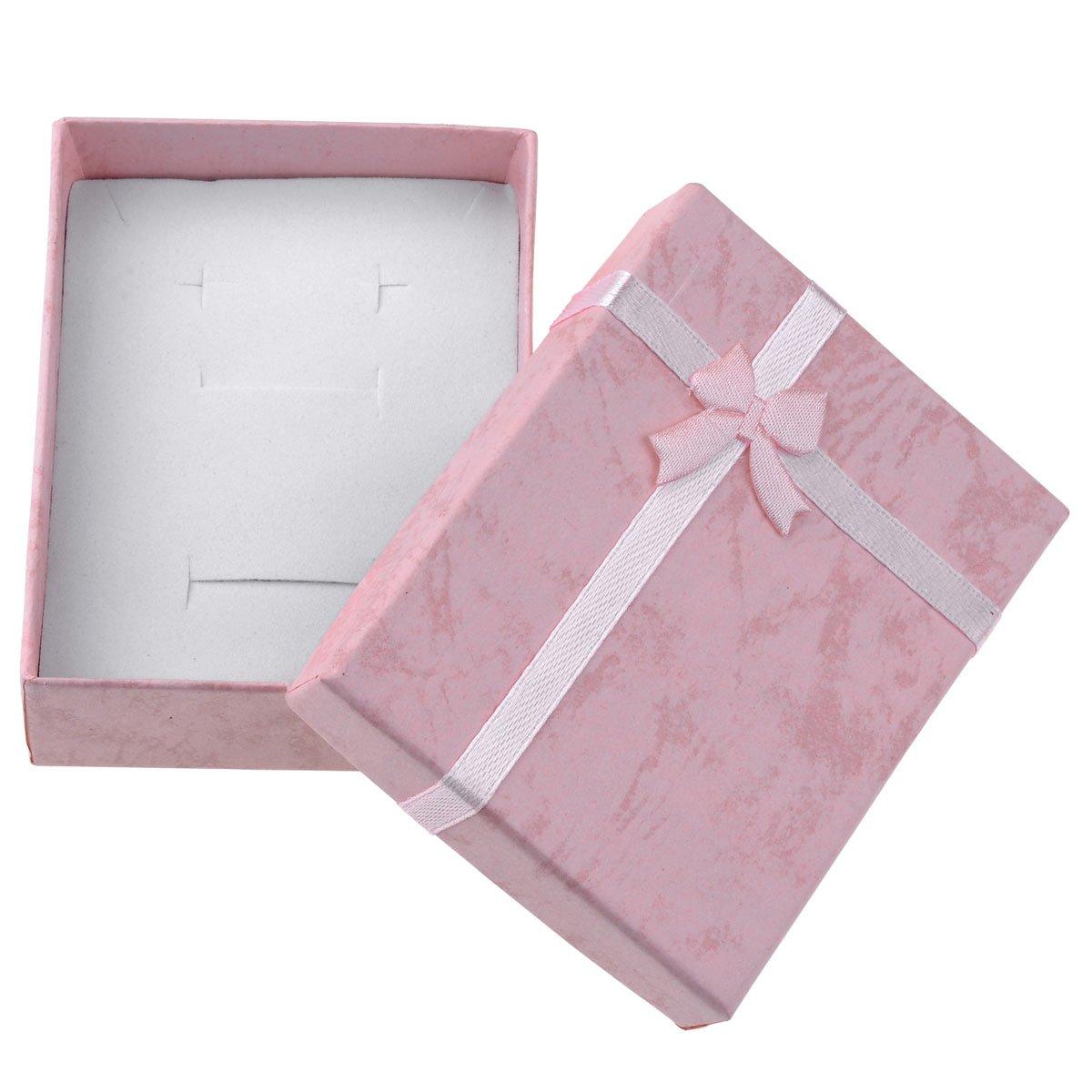 w//Gift Box CrystalTears Rose Quartz Heart-Shape Worry Stone Chakra Healing Crystal Pocket Palm Stone