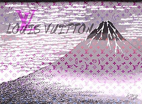 Mt. Fuji 富士山 ルイヴィトン ポップアートポスター #sh58 A1サイズ(594×841mm) カラー sh58a B0751F286Q A1(594×841mm)|sh58a sh58a A1(594×841mm)