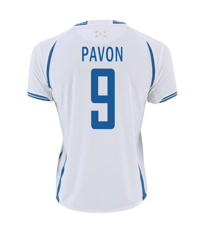 Joma Pavon #9 Honduras Home Soccer Jersey -Youth/サッカーユニフォーム ホンジュラス ホーム用 パボン 背番号9 ジュニア向け B011AJI13C YM