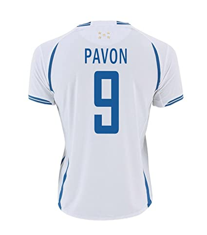 Joma Pavón #9 Honduras Fútbol Camiseta 1ra - Juventud (Tamaño De Los EE.
