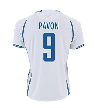 Joma Pavón #9 Honduras Fútbol Camiseta 1ra - Juventud (Tamaño De Los EE.UU) (YM): Amazon.es: Deportes y aire libre