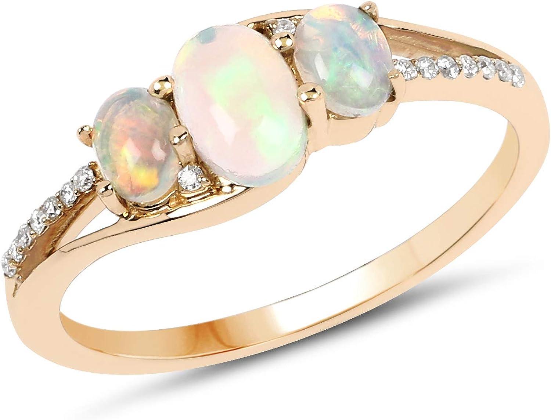 Ethiopian Opal Choker Ethiopian Opal Ring  Birthstone Ring  Fire Opal Ring  Stone Jewelry