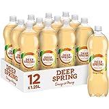 Deep Spring Sparkling Mineral Water Orange Mango, 12 x 1.25 l