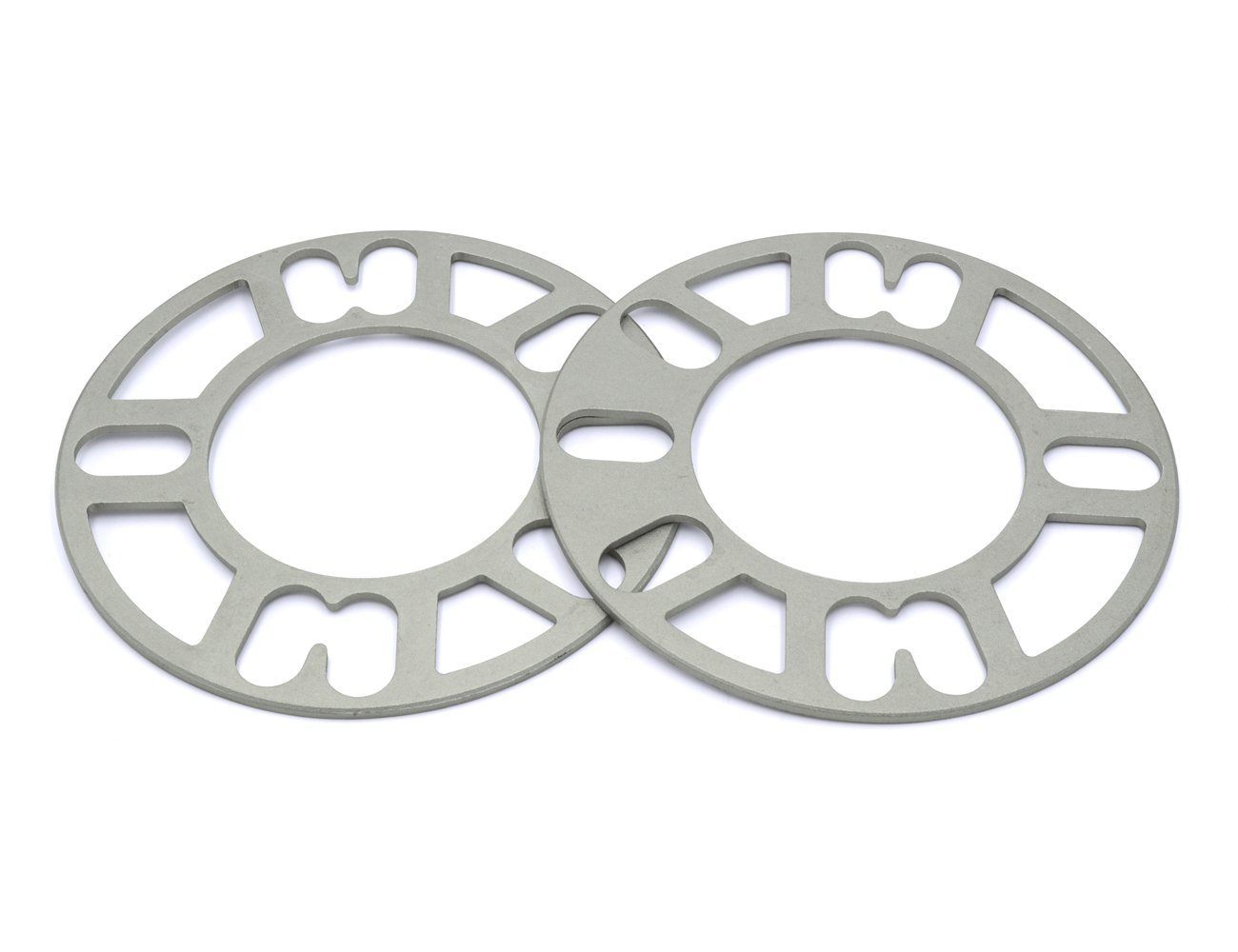 GoldenSunny Pack of 2, Aluminum Alloy 4 and 5 Lug 3mm Thickness Universal Wheel Spacers - Fit PCD 98-120