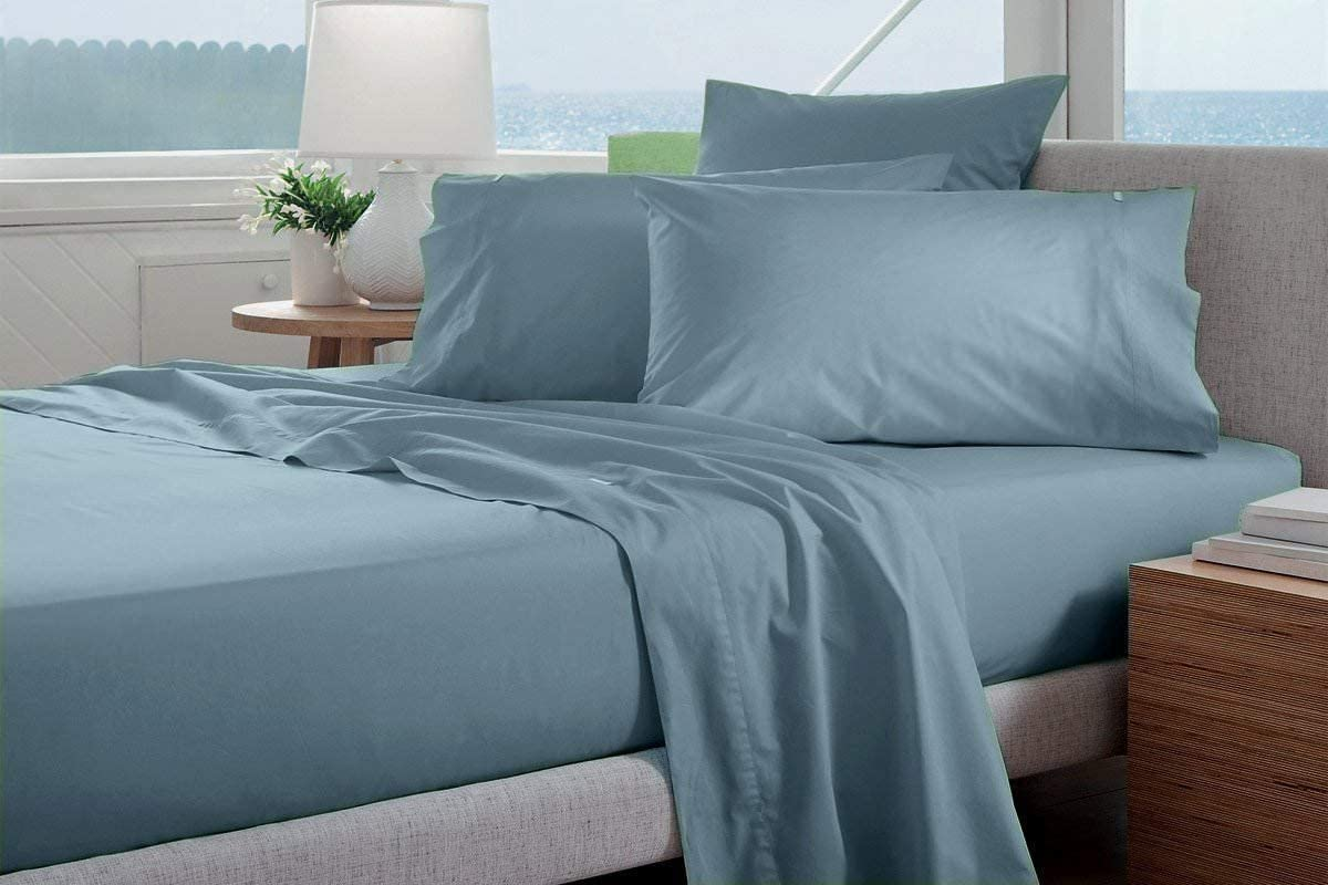 Infiniti Collection Easy-to-use Heavy Egyptian Cotton 4-PCs Queen Safety and trust Size Sheet
