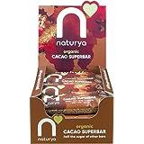 Naturya Cacao Snack Bar   16 x 40g bars   Healthy, Organic, Gluten Free, Low Sugar & Vegan